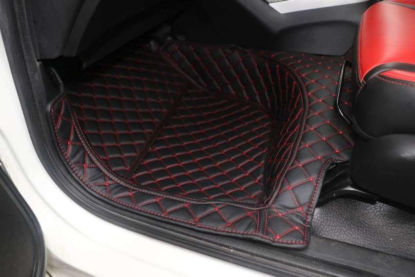 karpet mobil kulit 7D for Honda Jazz Tahun 2008-2021 full bagasi