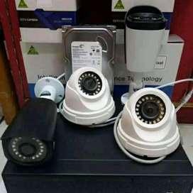 PAKET CCTV DAHUA 4 CH + PASANG