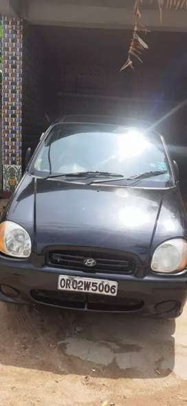 Hyundai Santro 2002 Petrol Well Maintained,