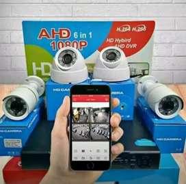 KAMERA CCTV 2MP ALAT BANTU KEAMANAN (PAKET LENGKAP)