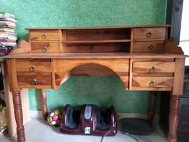 Sheesham wood Study table bought from fab india