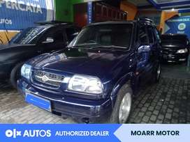 [OLXAutos] Suzuki Escudo 2.0 Bensin M/T 2001 Biru #Moarr Motor