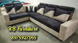 Newly Atractive corner sofa set direct factory sell in KB furniture