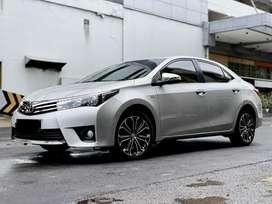 km 59rb! Toyota Altis 1.8 V At 2014 siap pakai garansi bebas tabrak