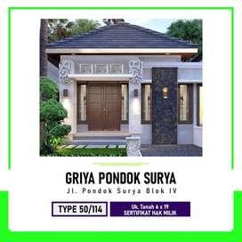 Mewah dapatkan segera rumah mewah anda di Jl. Pd. Surya Blk. IV, Helve