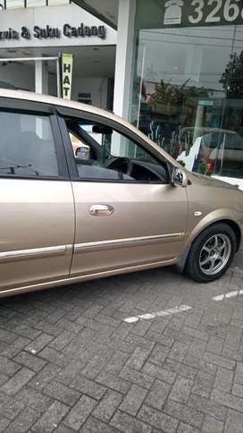 Jual mobil KIA Carens 2 metik tahun 2003 tipe EX