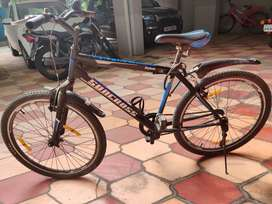 Cycle in good condition hardly used