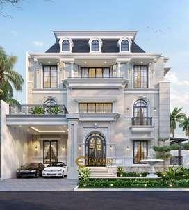 Jasa Arsitek Tangerang Desain Rumah 867m2 - Emporio Architect