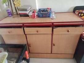 Three doors table, urgent sell