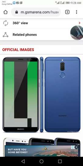 Huawei mate 10 lite 10/10 with charger and box