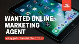 WANTED online marketing agent