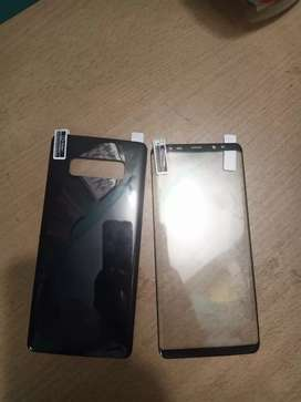 Note 8 protector 2 in 1 front and back