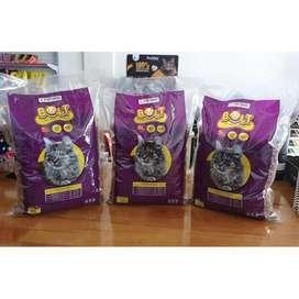 Makanan kucing Bolt 1KG