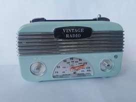 Vintage model radio