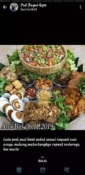 Menerima pesanan catering Nasi Kotak ( warung Sufi)