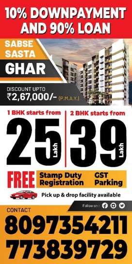 Buy 2bhk in very low price with free parking in TMC Mumbra