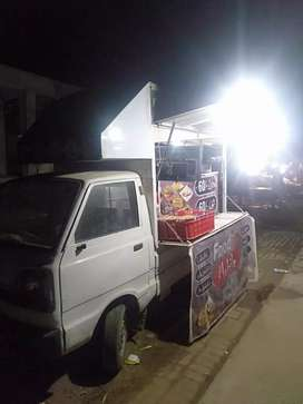 I m selling my food mobile with all fast food setup frair and hotplat