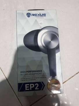 Headset Rexus EP 2,High Performance