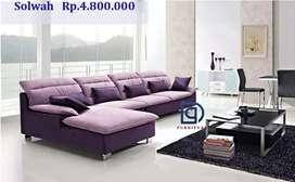 Sofa Tempahan Costum free ongkir