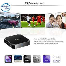 Online Cash On Delivery Android Smart TV Box X96 Mini Quad Core 2g+16g