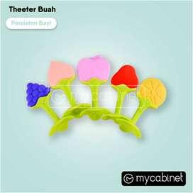 Baby Teether Gigitan Bayi Bentuk Buah Persik