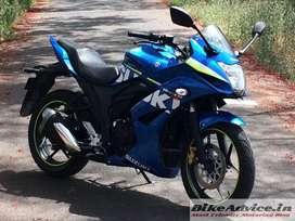 Suzuki Gixxer SF Blue - SPL