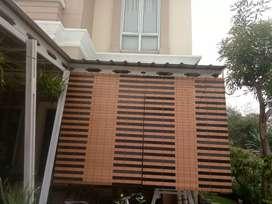 Tirai kayu krey kayu pvc 34
