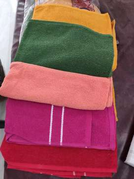 Towels available many colours
