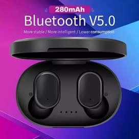 Termurah headset bluetooth A6S airdots True model kecil
