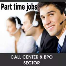 Bpo, customer care, telecaller part time job