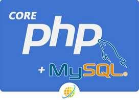 CORE PHP DEVELOPER