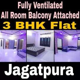 Corner 3 bedroom FullyFurnished Flat nr GyanVihar University Jagatpura