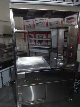 Counter burger shawarma stainless steel 24*48