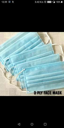 Safety face mask 100 pieces