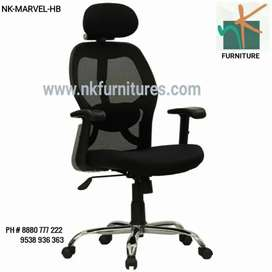 New NK-MARVEL Head Rest Revolving Chair