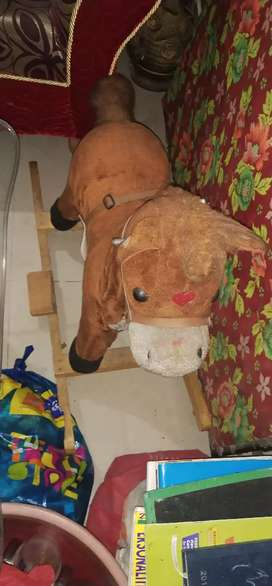 Toy horse for disposal