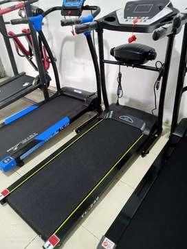 Promo Ramadhan Treadmill listrik 2 fungsi dgn alat getar  Ready