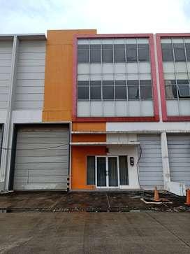gudang 3 lantai murah siap pakai di Bizpark Cakung