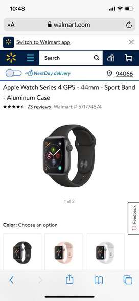 iWatch Series 4 - 44mm GPS