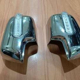 kikim variasi paris | cover spion chrome lampu | DATSUN GO