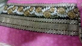Pink Rayon saree