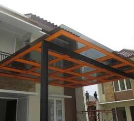 Panday besi, canopy pagar rumah jambi#06