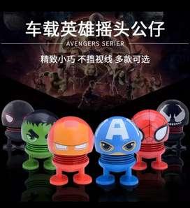 Emoji KEPALA GOYANG dan versi Avengers