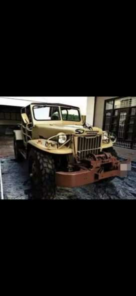 Modified jeep turbo di 4x4