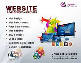 Web Design Development | SEO Graphics Designing | Domain Registration