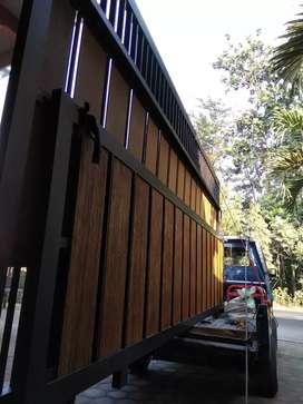kanopi pagar minimalis murah kediri