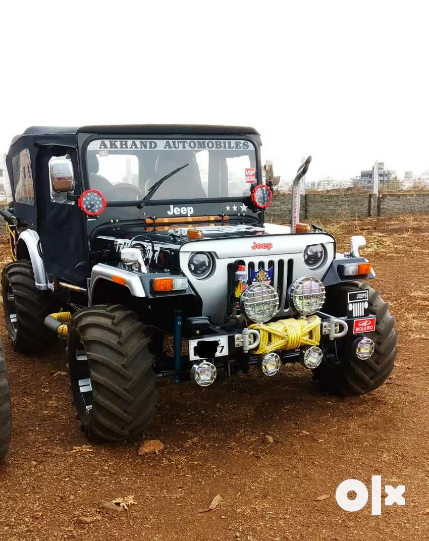 Hunter open convertible jeep modified 0