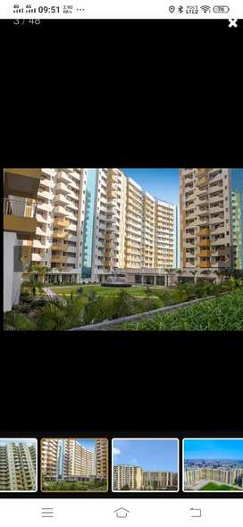 3 BHK semi Furnished apartment for rent