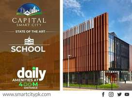 5 Marla Plot File Available For sale In Capital smart City