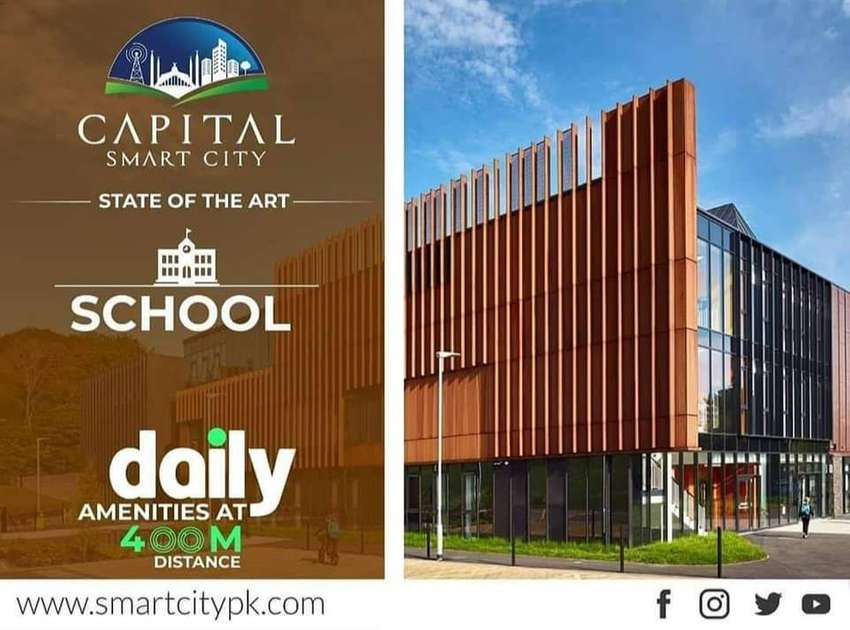 5 Marla Plot File Available For sale In Capital smart City 0
